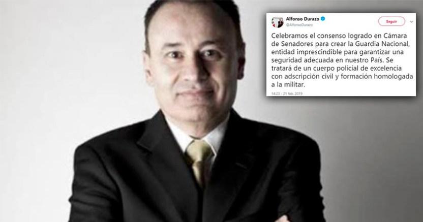 Guardia Nacional garantizará la seguridad del país Alfonso Durazo - Guardia Nacional garantizará la seguridad del país: Alfonso Durazo