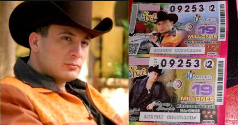 Recuerdan a Valentín Elizalde en la Lotería Nacional  - Recuerdan a Valentín Elizalde en la Lotería Nacional