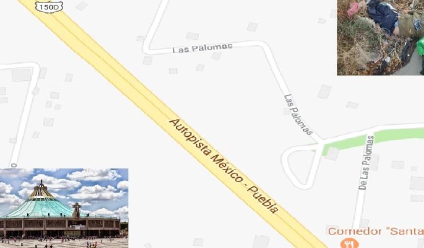 Screenshot 1 - Atropellan a dos peregrinos en la México-Puebla; iban a la Basílica