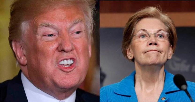 Trump se burla de candidata presidencial de EU la apoda Pocahontas  - Trump se burla de candidata presidencial de EU, la apoda Pocahontas
