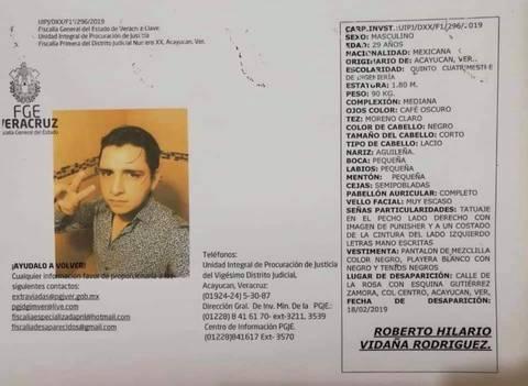 roberto estudiante muerto veracruz - Encuentran en estado de descomposición a estudiante de Veracruz