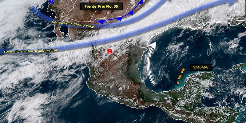 vientos - Habrá fuertes vientos en Baja California y norte del país