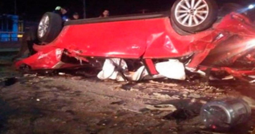 Fatal accidente en el estado de Aguascalientes deja dos muertos. 1 - Fatal accidente automovilístico en Aguascalientes deja dos muertos