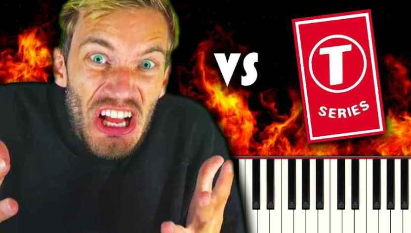 pewdiepie vs tseries - T-Series supera a PewDiePie; ya no es el youtuber con más suscriptores