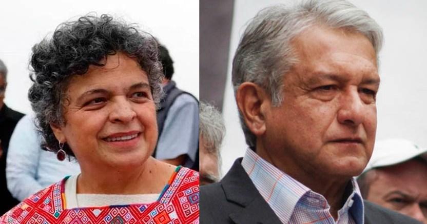 Beatriz Paredes criticó a AMLO por tener una 'excesiva prudencia' con EU - Beatriz Paredes criticó a AMLO por tener una 'excesiva prudencia' con EU