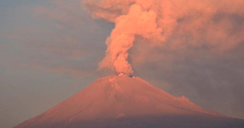 Popocatépetl registra 80 exhalaciones y dos sismos volcanotectónicos  - Popocatépetl registra 80 exhalaciones y dos sismos volcanotectónicos