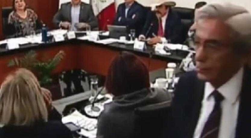 Screenshot 4 - Senadores anuncian que no votarán por un aspirante a la CRE; es grosero