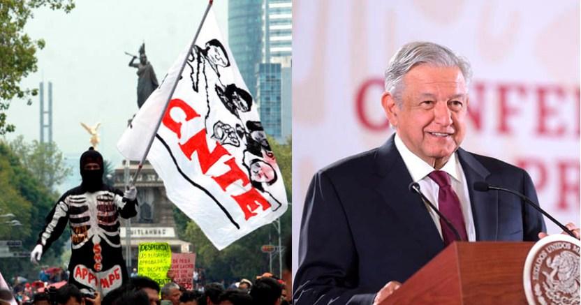 Se cancela Reforma Educativa si no hay acuerdo con la CNTE AMLO - Se cancela Reforma Educativa si no hay acuerdo con la CNTE: AMLO