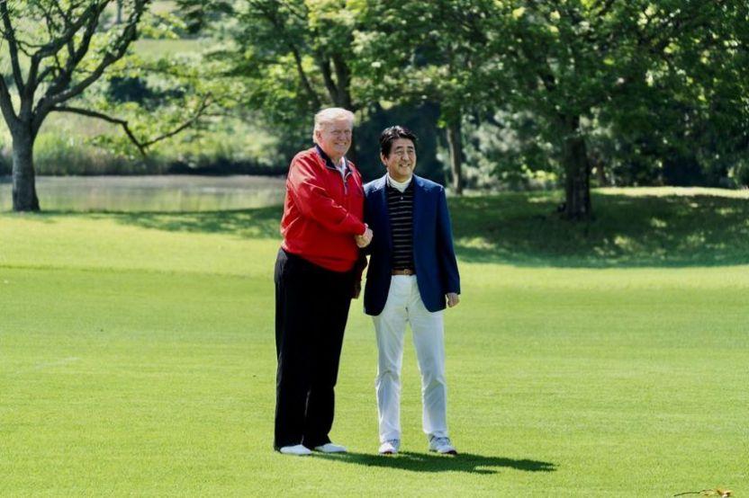 Japon EU - Trump y Abe posponen acuerdos comerciales para después de elecciones