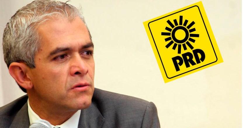 PRD pierde otra senadora Mancera dice que el partido no desaparecerá  - PRD pierde otra senadora; Mancera dice que el partido no desaparecerá