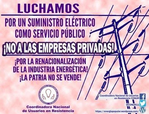 aaa 1 - Usuarios por electricidad nacional para garantizar servicio y precio bajo