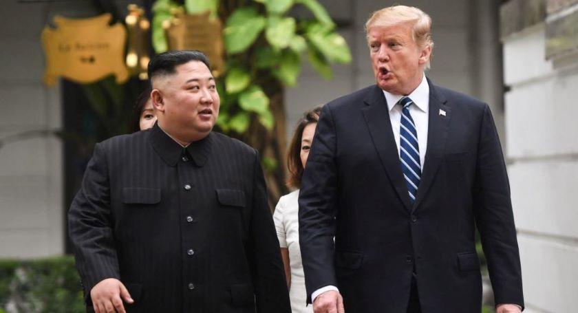 kim trump  - Tras cumbre fallida, Trump y Kim se reúnen en Corea del norte