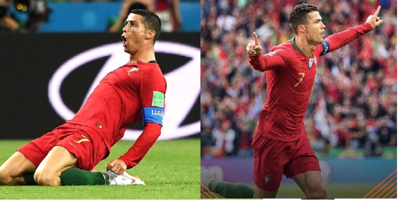 ronaldo - Portugal le gana a Suiza, 3 a 1, Cristiano Ronaldo el mejor