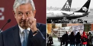 AMLO: Mexicana, otro saldo negativo del neoliberalismo, se atiende el caso