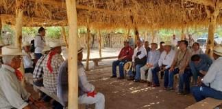 Semarnat en reunión con tribu Yaqui, México