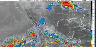 Se prevén lluvias intensas en varios estados del país