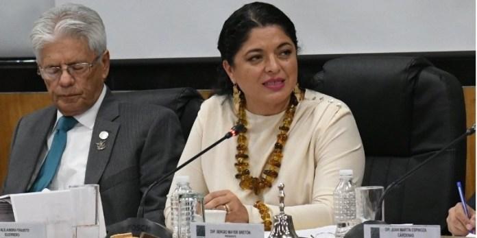 Cultura, Alejandra Frausto con diputados México