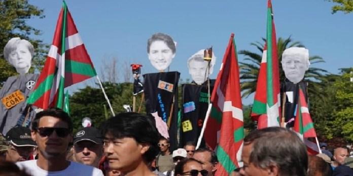 Cumbre del G7 empieza entre protestas, tensiones y detenciones