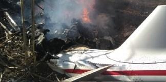 Helicóptero accidentado Puebla