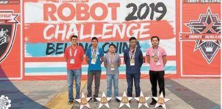 Estudiantes veracruzanos brillan en competencia de robótica en China
