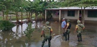 Lluvias en Chiapas provocan desbordamiento del río Pichucalco
