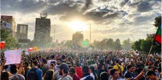 Chile, más de un millón movilizados