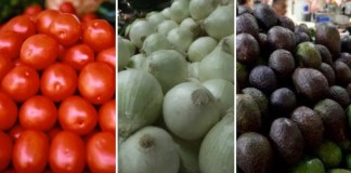 Aguacate, jitomate y cebolla, con mayor variación en precio: Profeco