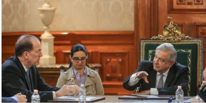 AMLO y Presidente del Banco Mundial