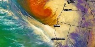 Ciclón Bomba azota EU