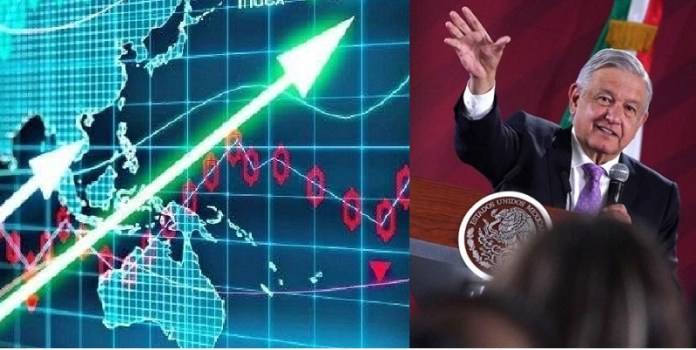 Peso, bolsa, bonos, a la alza en México