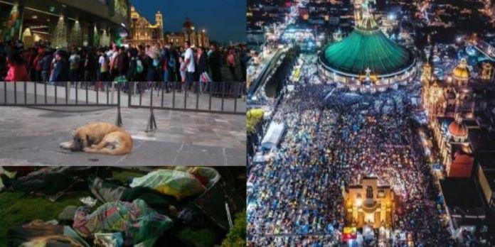 Basílica de Guadalupe, la celebración