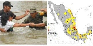 Conagua informó de sequía y lluvia récord en 2019