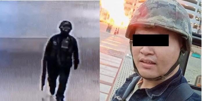 Tailandia, incidente con militar