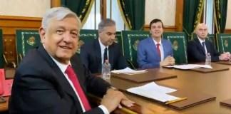 AMLO se reúne con directivos de DHL, anuncian inversión