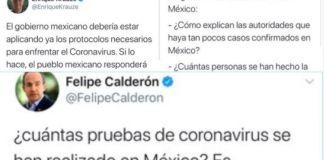De feministas a epidemiólogos, Calderón y compañía desinforman