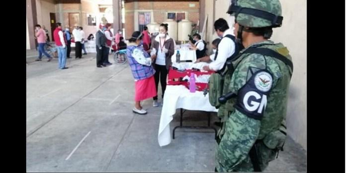 Guardia Nacional se despliega en entrega de apoyos