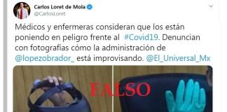 Loret de Mola miente: Director del Siglo XXI