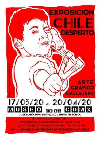 Exposición Chile Despertó