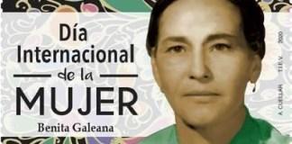Timbre en honor a Benita Galeana
