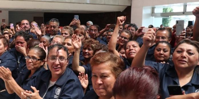 Diputados contratan a 462 trabajadores de limpieza, eliminan outsourcing