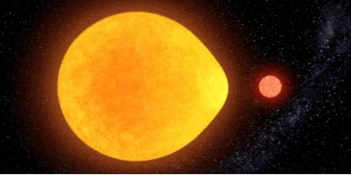 Científicos Canarios descubren singular estrella en forma de lágrima