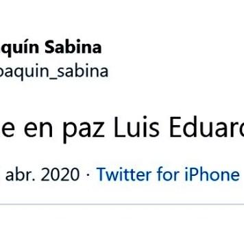 Fallece Luis Eduardo Aute