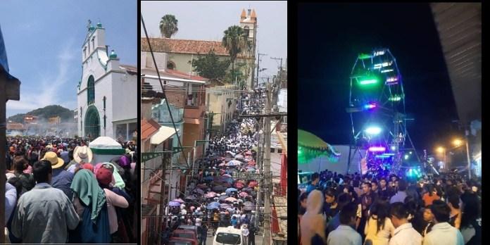 Chiapas celebraciones multitudinarias