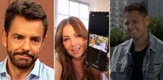 Chicharito, Thalia y Derbez, entre los 10 'tuitstars' pagados por oposición