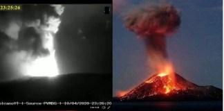 Volcanes: Indonesia y México