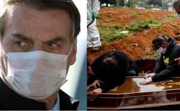 Brasil crece pandemia