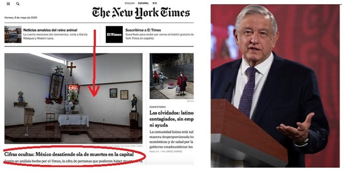 New York Times, periódico famoso pero con poca ética: AMLO
