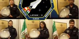 Astronautas mexicanas comparten conocimiento