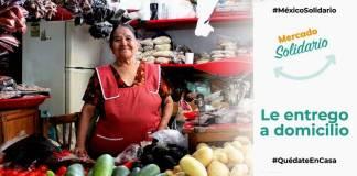 Abren página de Mercado Solidario