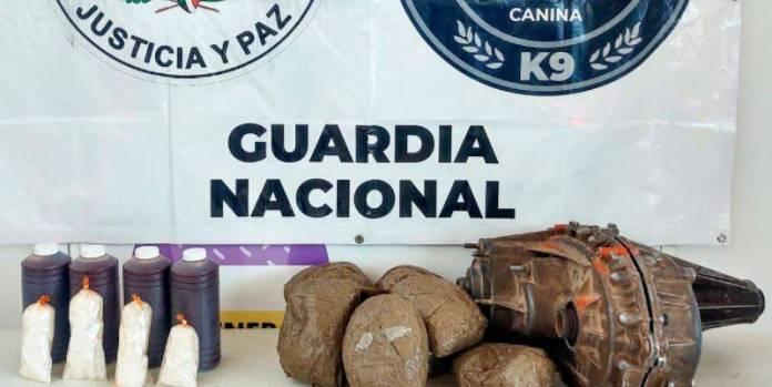 Guardia Nacional crystal Sinaloa  - Guardia Nacional localiza crystal y marihuana en botellas de salsa